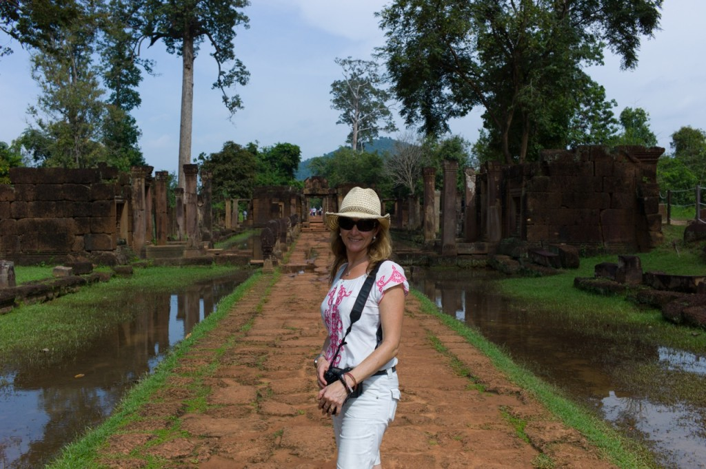 Julie in Cambodia