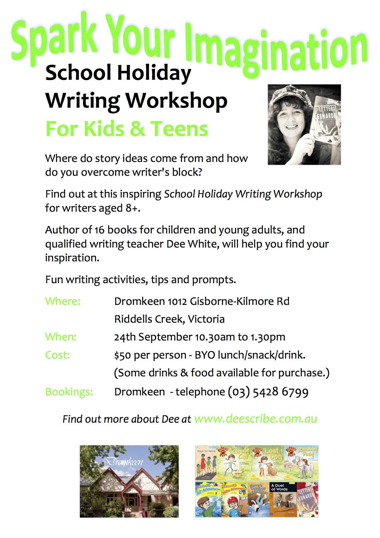 Dromkeen workshop flier